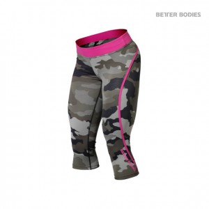 Camo Capri Tights - Limited  Production