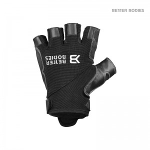 Pro Gym Gloves Black/Black